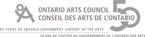 Ontario Arts Council | Conseil des Arts d'Ontario